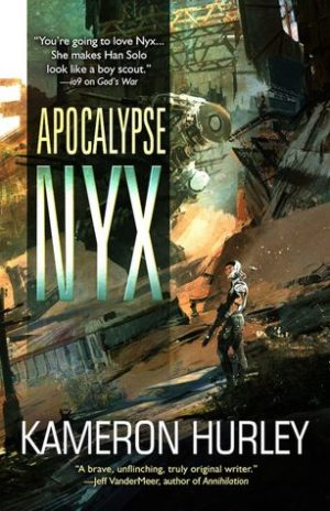Book cover of Apocalypse Nyx by Kameron Hurley