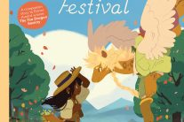 Book cover of The Tea Dragon Festival by Katie O'Neill