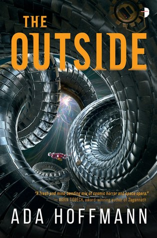 The Outside by Ada Hoffman book cover